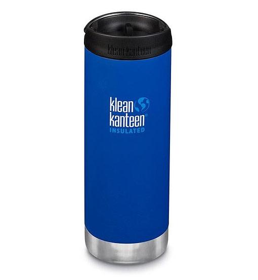 Klean Kanteen Insulated TKWide w/ Café Cap 473ml - Deep Surf