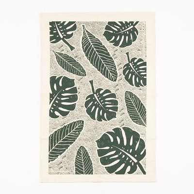 Studio Wald leaf tea towel
