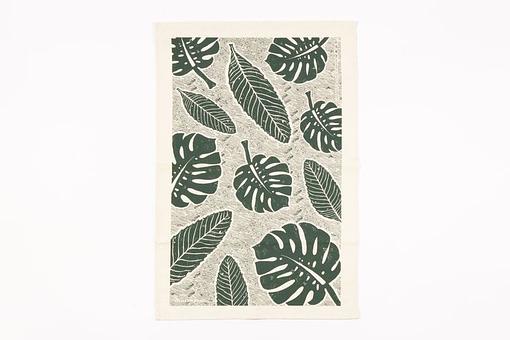 Studio Wald leaf tea towel