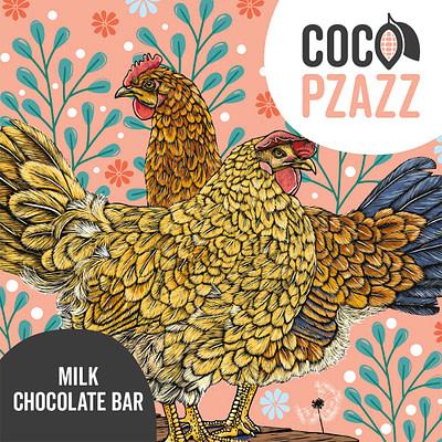 Coco Pzazz milk choc
