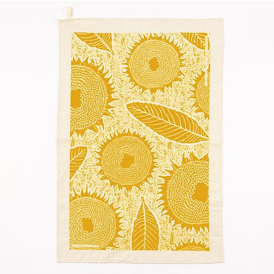 Studio Wald sunflower tea towel