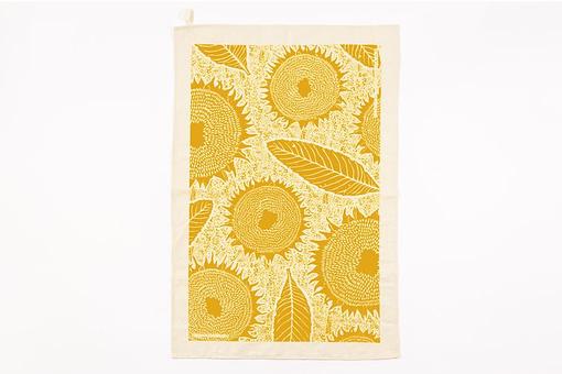 Studio Wald sunflower tea towel
