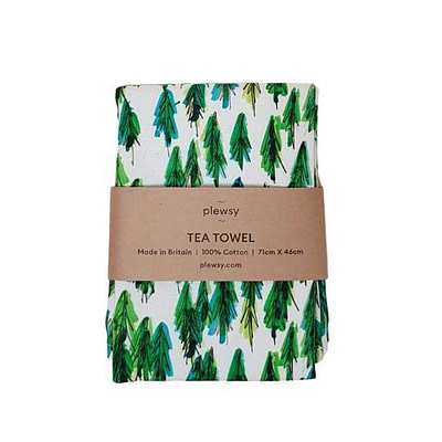 Plewsy Tree Tea Towel
