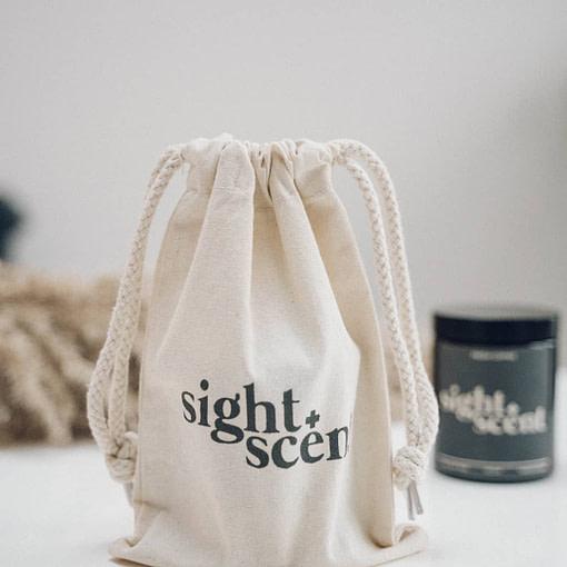 Sight & Scent Organic Cotton Bag