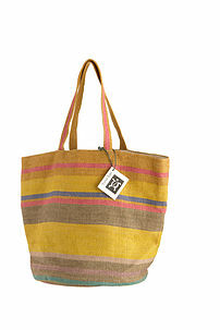 Buy the Hand Woven Beach Bags from Turtle Bags at Kin & Co, Abersoch