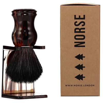 tortoiseshell shaving brush