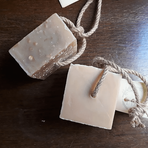 Cwt Gafr Soap on a rope