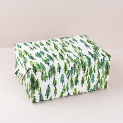 Plewsy Forest Gift Wrap