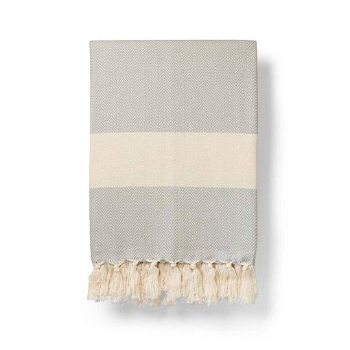 ferah blanket dove grey