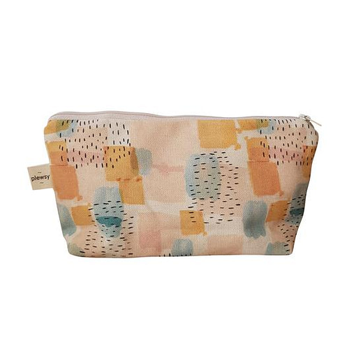 Plewsy Brushstroke Cosmetic Bag
