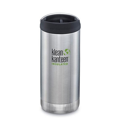 Klean Kanteen Insulated TKWide - w/ Café Cap 355ml -Brushed Stainless