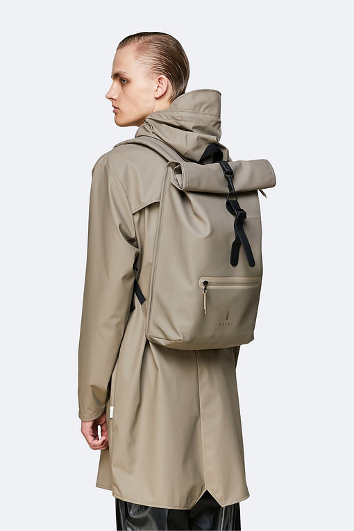 Buy the Rains Rolltop Rucksack from Kin & Co, Abersoch