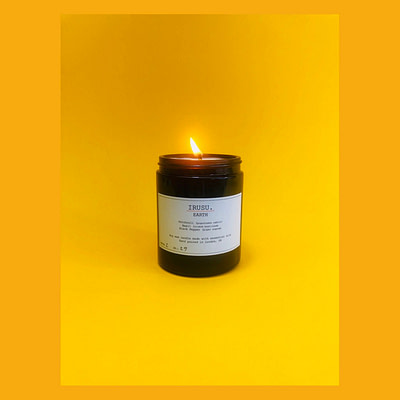 EARTH - Patchouli, Black Pepper and Basil | IRUSU Candles