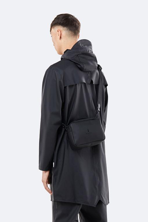 Rains box bag black