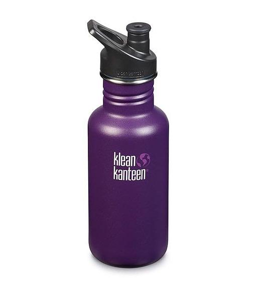 Klean Kanteen Classic w/ Sport Cap 532ml - Winter Plum