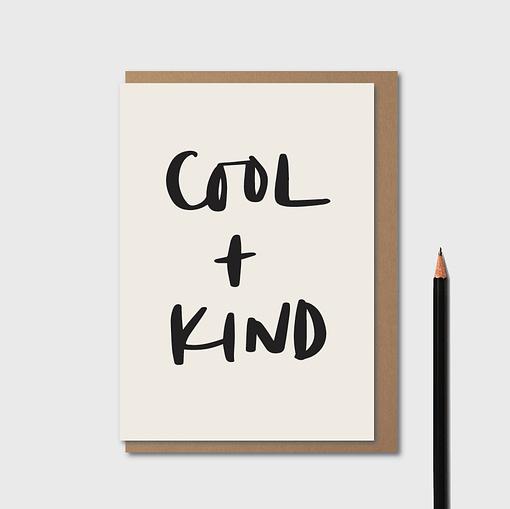 kinshipped cool and kind