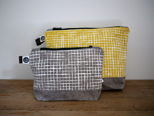 cire washrags grey and yellow