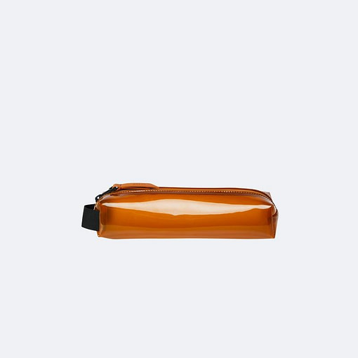 Buy the Shiny Amber Rains Pencil Case Mini from Kin & Co, Abersoch