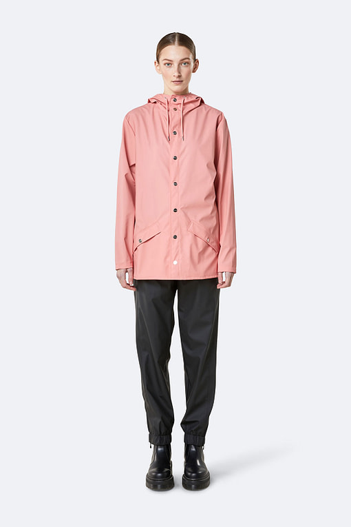 Rains jacket Coral