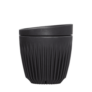 6oz Cup & Lid combo - black