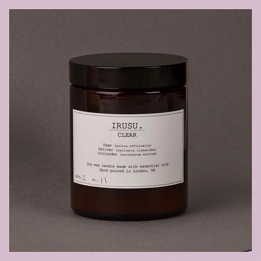 Irusu Clear candle