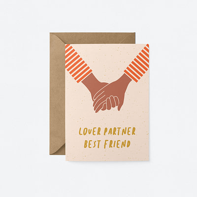 valentines lover partner best friend card