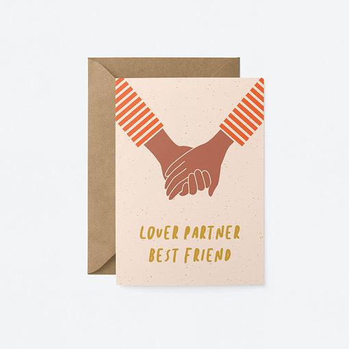 valentines lover partner best friend card