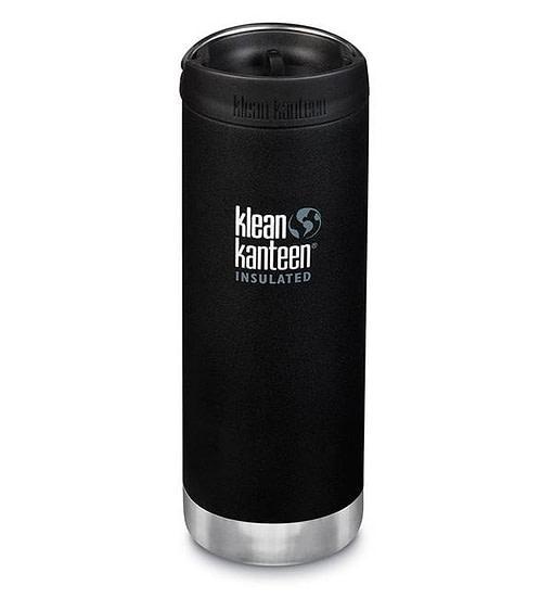 Klean Kanteen Insulated TKWide w/ Café Cap 473ml - Shale Black
