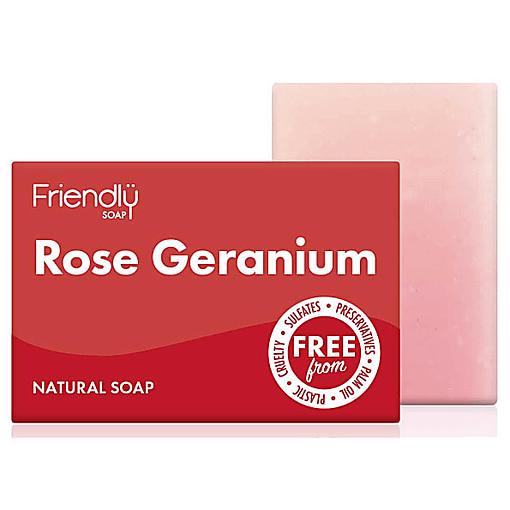 Friendly soap rose geranium