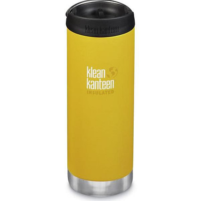 Klean Kanteen Insulated TKWide w/ Café Cap 473ml - Lemon Curr