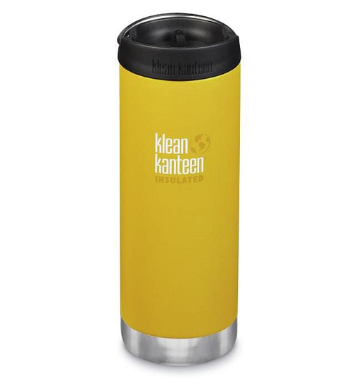Klean Kanteen Insulated TKWide w/ Café Cap 473ml - Lemon Curr