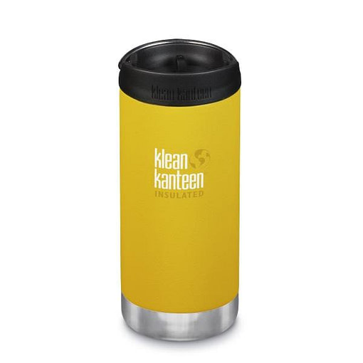Klean Kanteen Insulated TKWide - w/ Café Cap 355ml -Lemon Curry