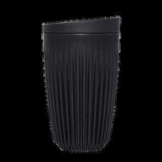 12oz Cup & Lid combo - black