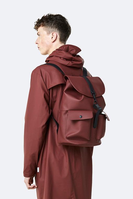 rains maroon camp backpack