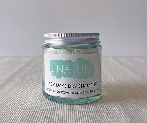 natur dry shampoo