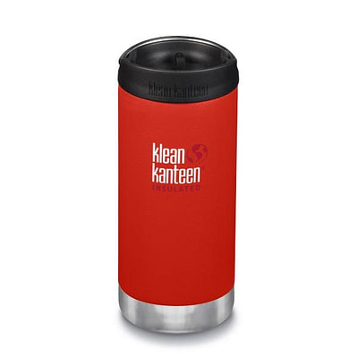 Klean Kanteen Insulated TKWide - w/ Café Cap 355ml - Poist Box Red