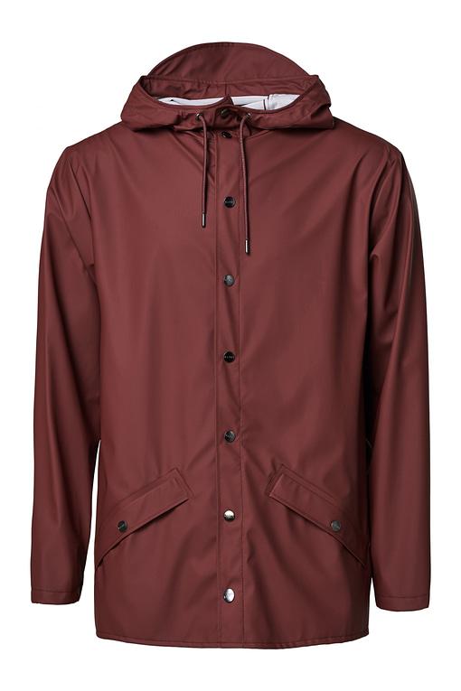 rains maroon jacket