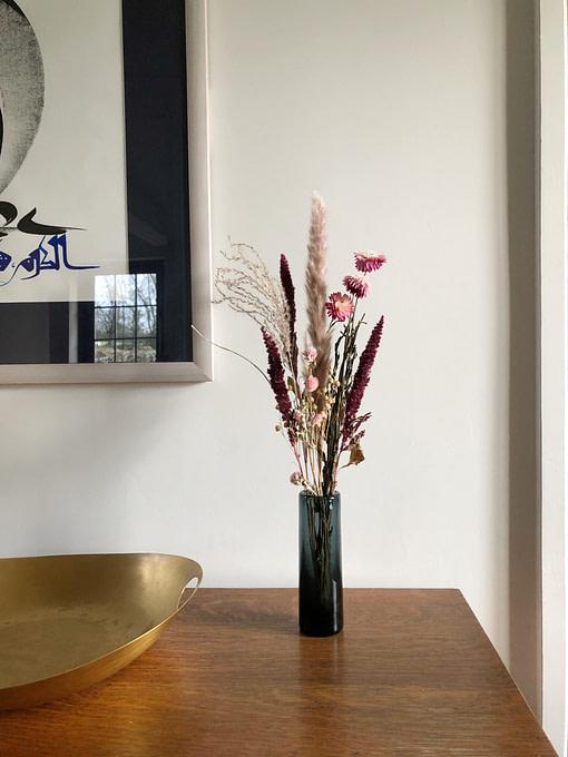 slender pinks dried flowers