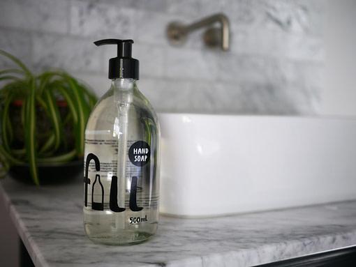 Fill hand soap